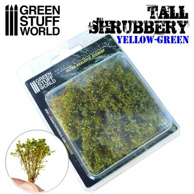 GSW Tall Shrubbery: Yellow and Green