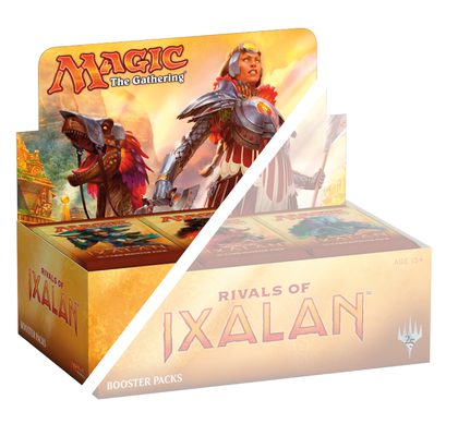 Rivals of Ixalan Booster Half Box