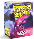 Dragon Shield Sleeves Matte Purple (100pcs)