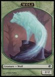 Wolf TOKEN 2/2 - Scars of Mirrodin