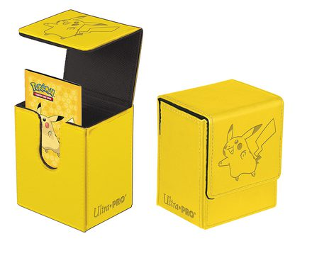 Ultra Pro Deck Box Pokemon: Flip Box, Pikachu