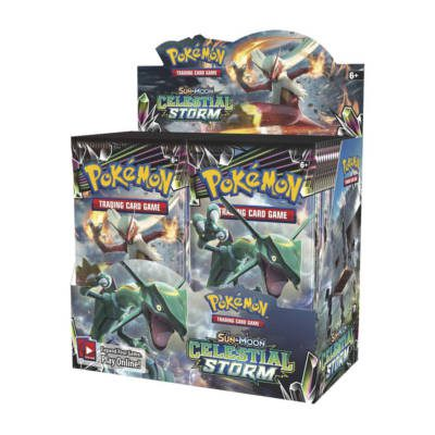 Pokemon SM7: Sun & Moon Celestial Storm Booster Display Box