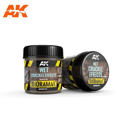 AK Interactive Crackle Effects: Wet 100ml