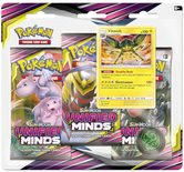 Pokemon SM11: Sun & Moon Unified Minds 3-pack Blister Vikavolt