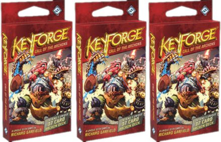 KeyForge Call of the Archons Archon Deck Bundle