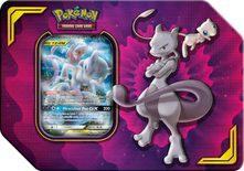 Pokemon Power Partnership Tin: Mewtwo & Mew GX