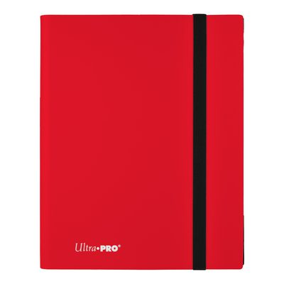 Ultra Pro 9-Pocket Pro Binder Eclipse Apple Red
