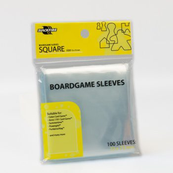 Blackfire Sleeves Square 72x73mm (100pcs)