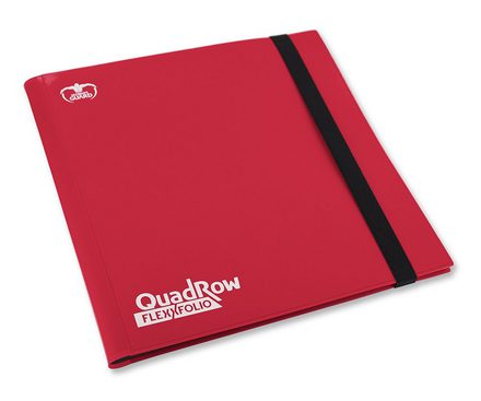 Ultimate Guard FlexXFolio 12 Pocket Red Binder