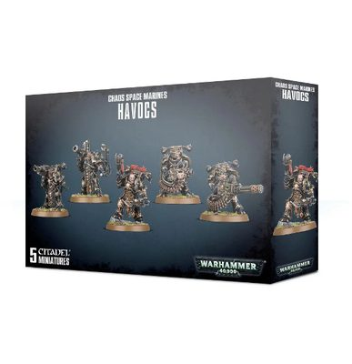 Chaos Space Marines Havocs