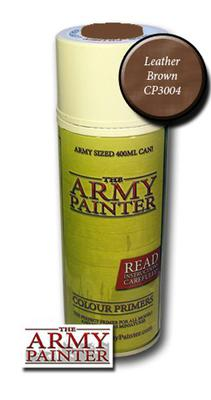 Army Painter Spray, Leather Brown