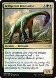 Belligerent Brontodon - Ixalan