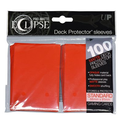 Ultra Pro Sleeves Standard Size Eclipse Apple Red (100ct)