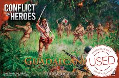 Conflict of Heroes: Guadalcanal - The Pacific 1942 *USED*