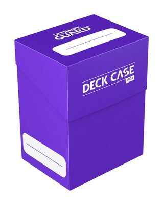 Ultimate Guard Deck Box, 80+ Purple