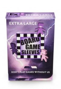 Arcane Tinmen Non-Glare Board Games Sleeves, Extra Large 65x100mm (50pcs)