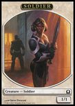 Soldier TOKEN 1/1 - Return to Ravnica