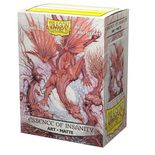 Dragon Shield Art Sleeves Matte Standard Size Essence of Insanity (100ct)