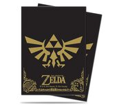 Ultra Pro Sleeves, Black & Gold Zelda (65pcs)