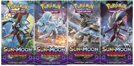 Pokemon SM2: Sun & Moon Guardians Rising Booster