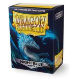 Dragon Shield Sleeves Standard Size Matte Night Blue (100ct)