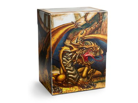 Dragon Shield Deck Shell 80+ Gold