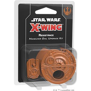 Star Wars X-Wing Miniatures Game Second Edition Resistance Maneuver Dial Upgrade Kit (PREORDER)