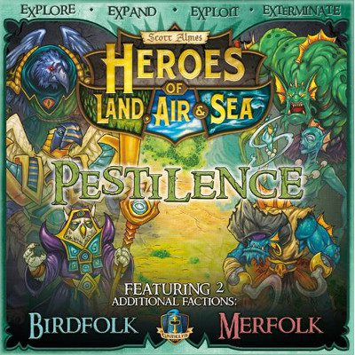 Heroes of Land, Air & Sea: Pestilence Expansion (ENNAKKO)