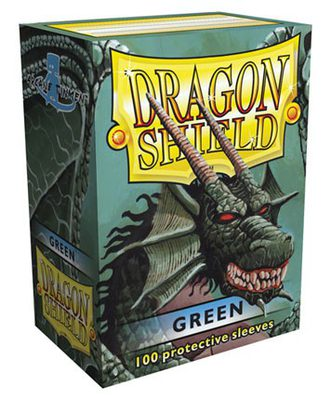 Dragon Shield Sleeves Standard Size Green (100ct)