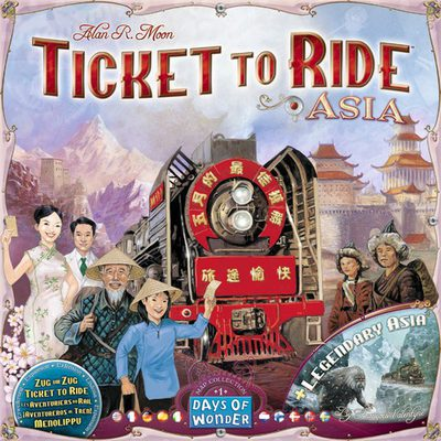 Ticket to Ride Map Collection Vol. 1: Asia
