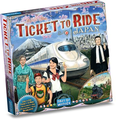 Ticket to Ride Map Collection Vol. 7: Japan & Italy