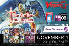 Cardfight Vanguard G Trial Deck Vol. 9: True Zodiac Time Beasts