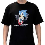 Sonic T-Shirt: Too Slow - M