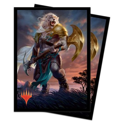 Ultra Pro MTG Core Set 2020 Deck Protector Standard Sleeves: Ajani, Strength of The Pride (100ct)