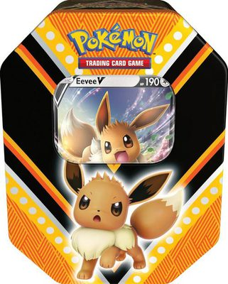Pokemon V Powers Tin: Eevee V