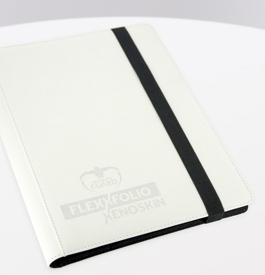 Ultimate Guard FlexXfolio Xenoskin 9 Pocket White Binder