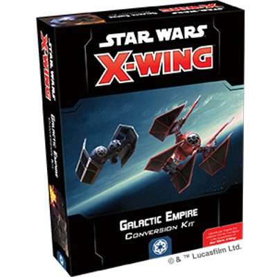 Star Wars X-Wing Miniatures Game Second Edition Galactic Empire Conversion Kit