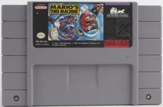 Mario's Time Machine - SNES