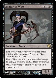 Avatar of Woe - Premium Deck Series: Graveborn