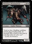 Minotaur Abomination - Magic 2014