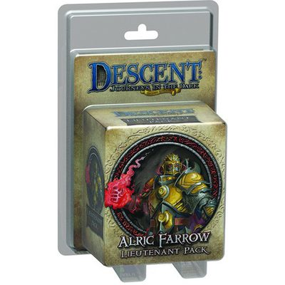 Descent (2nd Ed): Alric Farrow Lieutenant Pack