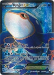 Kyogre EX Full Art 104/108