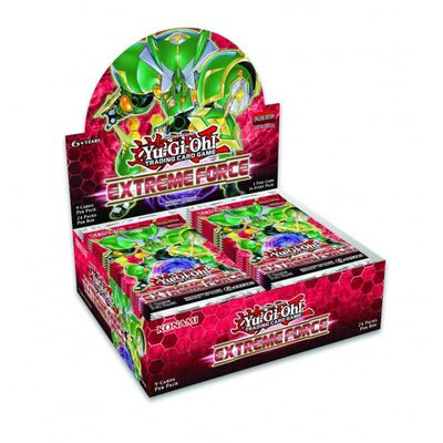 Yu-Gi-Oh Extreme Force Booster Display Box