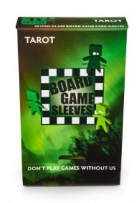 Arcane Tinmen Board Game Sleeves Non-Glare, Tarot 70x120mm (50ct)