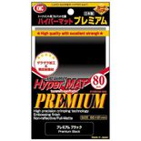KMC Sleeves Hyper Matte Premium Black (80ct)