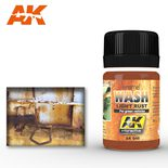 AK Interactive Enamel Color: Light Rust Wash 35ml