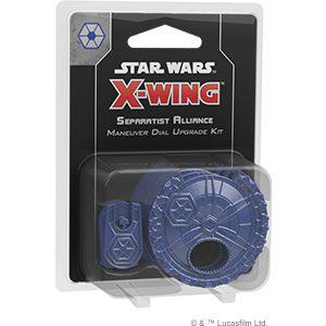 Star Wars X-Wing Second Edition: Separatist Alliance Maneuver Dial Upgrade Kit