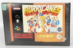 Hurricanes (VHS Box) - SNES