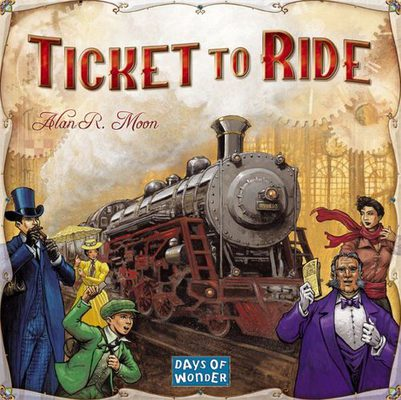 Ticket to Ride - Menolippu USA (FI/SE/NO/DK)