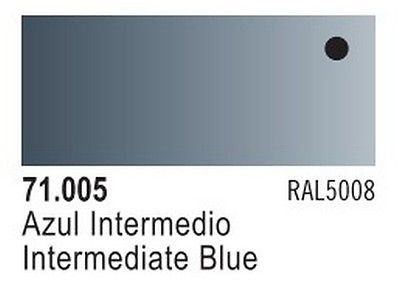 Vallejo Model Air: Intermediate Blue 71.005